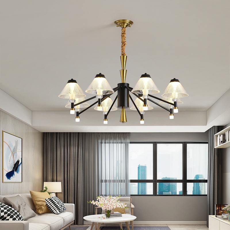后现代北欧家用吊灯卧室餐厅灯极简创意个性大气简约轻奢客厅吊灯