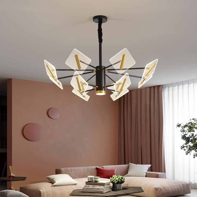 后现代简约家用吊灯创意个性北欧客厅餐厅卧室书房网红轻奢吊灯具