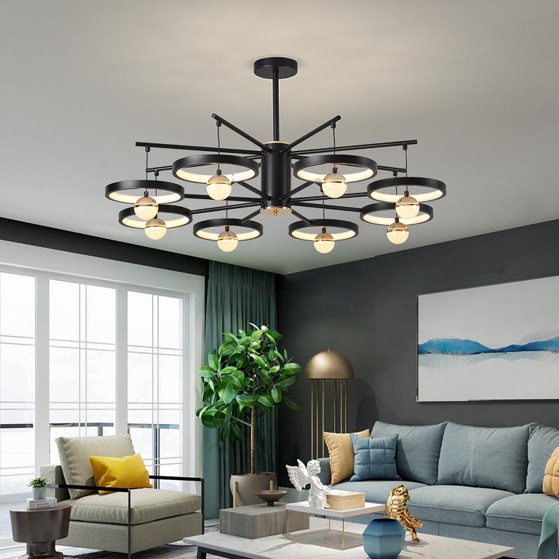 后现代简约客厅吊灯创意个性家用餐厅书房卧室北欧轻奢样板间灯具