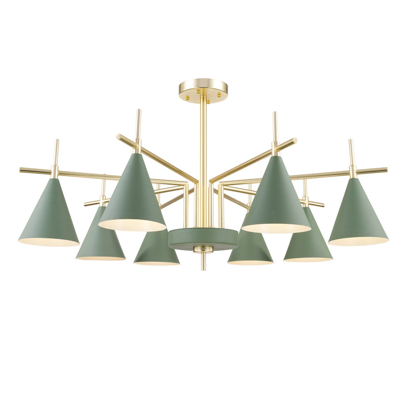 北欧风客厅灯后现代简约马卡龙吊灯简约现代个性创意餐厅卧室吊灯