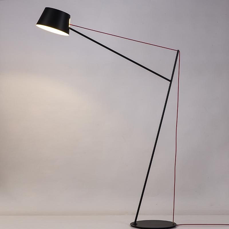 后现代创意沙发艺术落地灯书房办公室卧室灯样板房北欧客厅落地灯