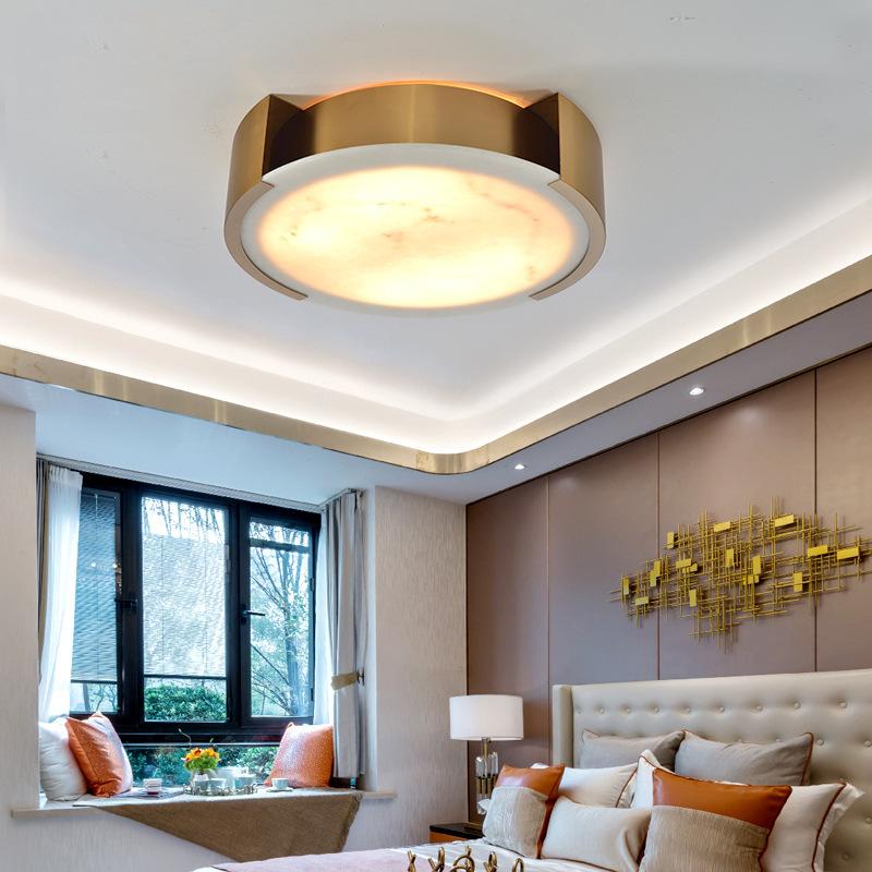 现代轻奢卧室温馨浪漫卧室灯个性创意灯具客厅简约现代led吸顶灯