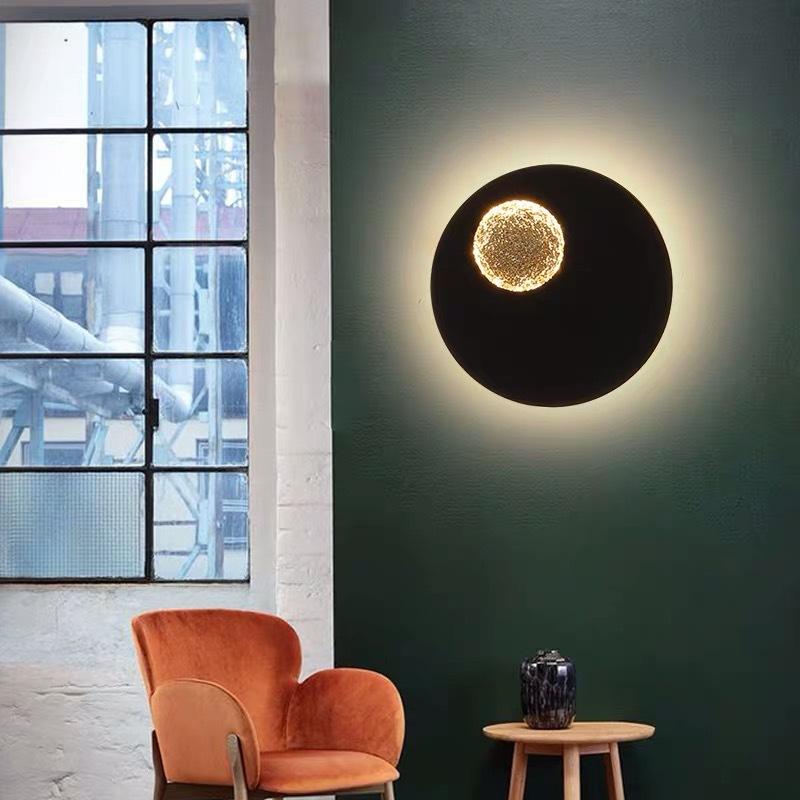 轻奢壁灯后现代设计师别墅客厅电视背景墙卧室床头过道样板房灯具