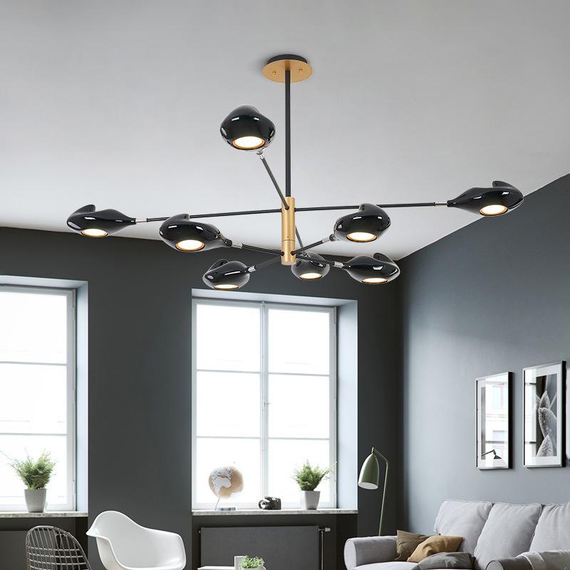 现代简约客厅吊灯 北欧卧室餐厅灯个性创意酒店设计师装饰led灯具