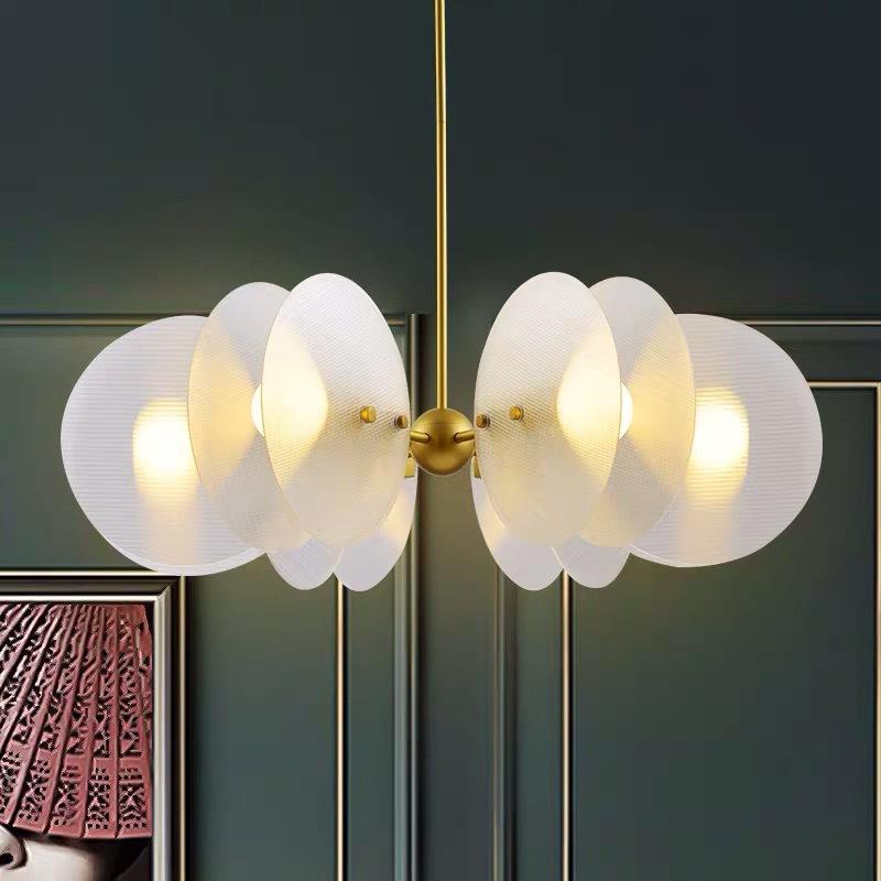 后现代简约创意个性客厅书房卧室餐厅吊灯艺术亚克力酒店客房灯具