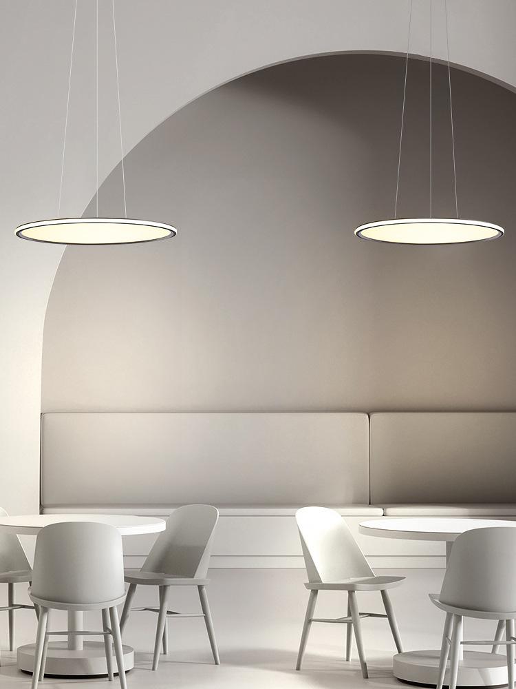 餐厅吊灯现代简约2020年新款北欧极简大气客厅咖啡厅饭厅餐桌灯具