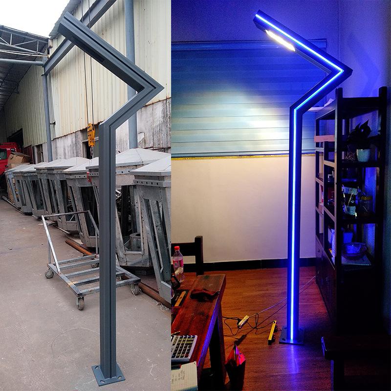 3米铝型材庭院灯 小区户外景观灯定制广场园林铝制3.5米led庭院灯