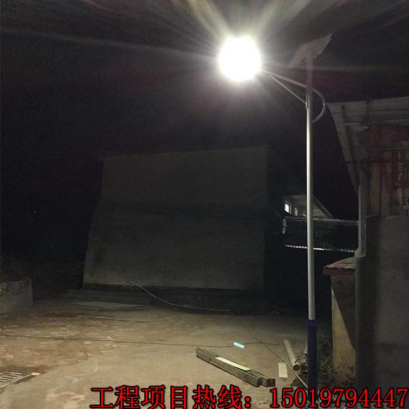 厂家生产南宁农村6米太阳能路灯 30Wled太阳能灯分体式户外庭院灯